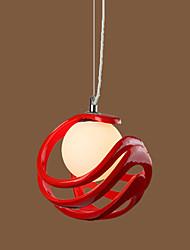Modern art dining-room of children room 40 w one light chandelier