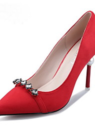 Women's Spring / Fall / Winter Heels / Pointed Toe / Closed Toe Leather Office & Career / Dress / Casual Stiletto Heel Others Multi-color