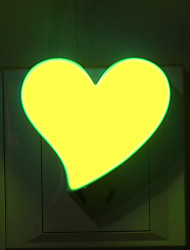 1PCS Heart-Shaped Cartoon Nightlight Nightlight Bedside Lamp Love Shape Light Study Desk Lamp Atmosphere