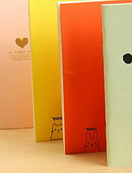 Han Edition Simple Pure Color Notepad Sweet Candy Color Notebook/journal