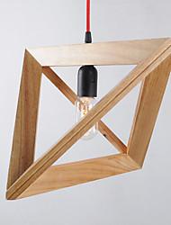 Lampe suspendue ,  Traditionnel/Classique Rétro Peintures Fonctionnalité for Style mini Bois/BambouSalle de séjour Chambre à coucher