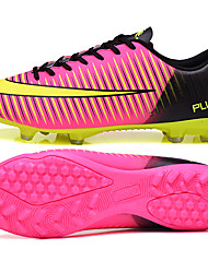 Men's Shoes Synthetic Athletic Shoes Soccer Lacing Training Soccer Shoes  Green / Pink / Purple / Silver