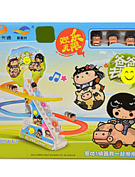 Audible Music Slide Children'S Educational Creative Toy Electric Rail Car