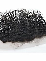 instock grado AAAAA vergini a buon mercato frontals del merletto brasiliano con i capelli del bambino, piene del merletto chiusure frontali
