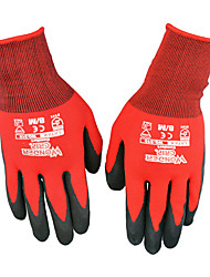 WONDER GRIP® Nitrile Dipping Oil Resistant Gloves CE Certification Work Anti-Skid Breathable Elastic Gloves