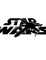 Top Quality Star Wars Warship Spaceship Wall Stickers DIY Fashion Living Room Wall Decals