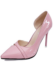 Women's Heels Spring / Summer / Fall Heels / Pointed Toe Patent Leather Dress Stiletto Heel Hollow-out