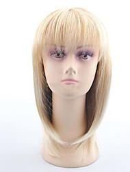 clássica popular diário usando perucas bege reta com peruca sintética estrondo completo para Europa e América senhoras