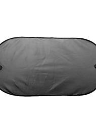mesh noir après l'isolation du soleil bloc voiture anti-uv parasol 100 * 50cm