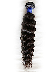 Evawigs Hair Weaves Deep Wave Unprocessed Brazilian Virgin Remy Hair Wefts With Natural Color