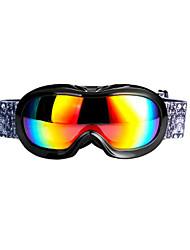Professional Wholesale Double Anti Fog Goggles 4 Color Children Ski Goggles Myopia Goggles XH-118 Card