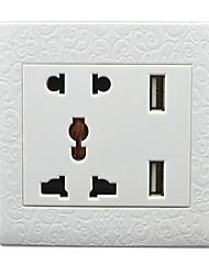многофункциональный USB разъем 220v 2a