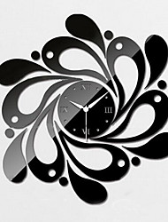 Dimensional Decorative Wall Stickers Mirror Wall Clock