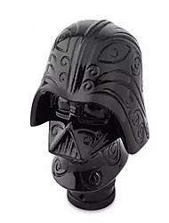 engrenage personnalisé levier de tête de bâton Darth Vader de voiture modifiée vitesse de transmission manuelle Pommeau de levier