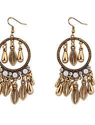 Atmospheric Water Droplets Tassel Earrings