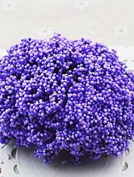 1pc/set 1 Une succursale Polyester Gypsophila Fleur de Table Fleurs artificielles 10*10*10cm