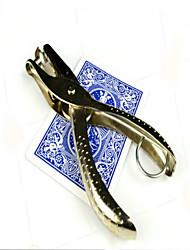 magia Prop Toy Novelty / profissional Nível Quadrangular Metal / Papel Azul / Bronze Para Crianças