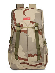 2 L Backpack Camping & Hiking Outdoor Multifunctional Khaki Nylon Other