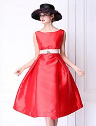 Pour My Fair Lady® Femme Bateau Sans Manches Au dessus des genoux Robes-1502064