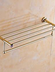 Bathroom Shelf / Polished Brass / Wall Mounted /60*15*10 /Brass /Contemporary /60 15 1.427