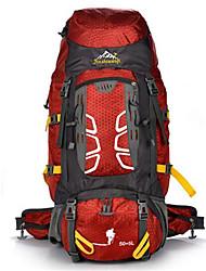 55 L sac à dos / Sac à Dos de Randonnée Camping & Randonnée / Escalade / Voyage Extérieur / Sport de détenteEtanche / Isolation thermique