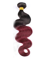Âmbar Cabelo Peruviano Onda de Corpo tece cabelo