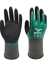 WONDER GRIP® WG-501 Universal Oil Resistant Nitrile Impregnated Anti-Skid Breathable Gardening
