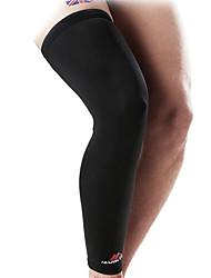 Kniebandage Sport unterstützen Atmungsaktiv Fitness Schwarz
