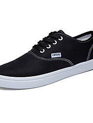 Men's Shoes Casual Canvas Fashion Sneakers Black / Blue / White