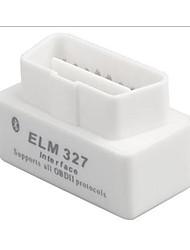 cd mini-ELM327 bluetooth obd2 v1.5 mini-détecteur de voiture blanche
