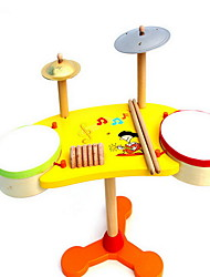 Children'S Intelligence Simulation Of Wooden Children'S Shelf Drum