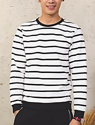 Men's Long Sleeve Hoodie & Sweatshirt,Cotton Plaids