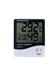 eletrônico de temperatura interior e exterior e termômetro digital medidor de umidade