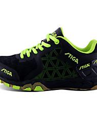 Sapatos Interior Unissex Preto Borracha