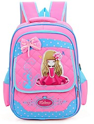 Women Nylon Casual Backpack Pink / Blue / Fuchsia