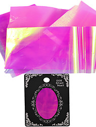 1pcs 50cm*5cm Nail Art Beautiful Color Transfer Foil Glitter Sticker Shinning BX05