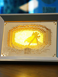 nous branchons papier créatif conduit sculpture 3d décoratif scorpio lumière de nuit de noël