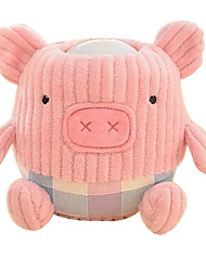 rosa pat porco bateria lâmpada noturna noturna sono infantil