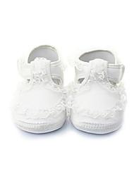 Baby Calçados-Sapatilhas-Branco-Algodão-Ar-Livre / Social / Casual