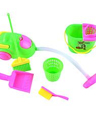 kinderen simulatie cleaning kit props bezemschoon trash schoner serie 6 accessoires