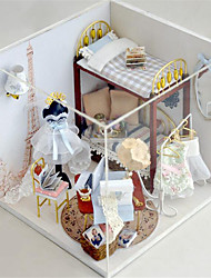 DIY Hütte süß Träumern Hand zusammengebautes Modell Haus Geburtstagsgeschenk Spielzeug