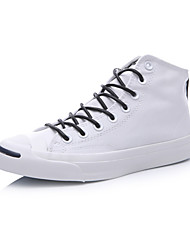 Converse Jack Purcell Women's Shoes High Canvas  Outdoor / Athletic / Casual Sneakers Flat Heel