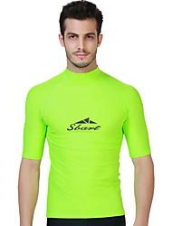 SBART Homme Combinaisons Tenue de plongée Compression Costumes humides 1.5 à 1.9 mm Vert S / M / L / XL / XXL / XXXL / XXXXL Plongée