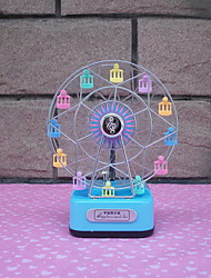 Colorful Happy Ferris Wheel Music Box