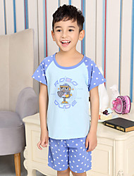 Boy's Cotton Sleepwear,Summer