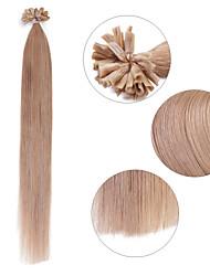 Neitsi 16'' 25g Keratin Fusion Prebonded U Nail Tip Hair Extension Human Hair