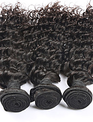 brazilian virgin hair deep curly Virgin Brazilian curly hair Unprocessed human hair weave brazilian deep wave