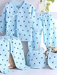 Sous-vêtements bébé Imprimé Décontracté / Quotidien Coton Toutes les Saisons Bleu / Rose / Jaune