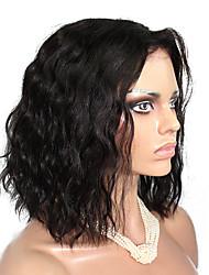 evawigs 10-18 Zoll 10a grade natürlichen Welle brasilianisches reines Haarspitzefrontseiten-Perücken kurze Bob menschliches Haar