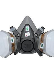 industrielle beskyttende støvgassmasker (materiale: gummi&plast, utskifting: kassetter, bomull filtre)